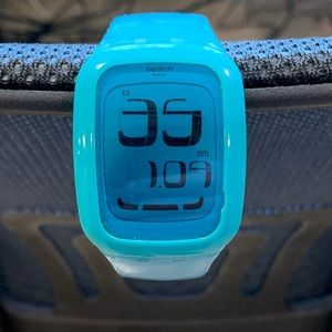 Swatch Touch Blue Digital Watch